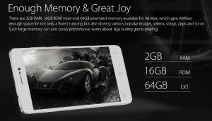 Smartphone 2GB di RAM