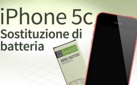 Sostituzione batteria iPhone 5C