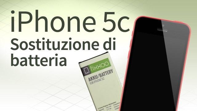batteria iphone 5s prezzo sostituzione