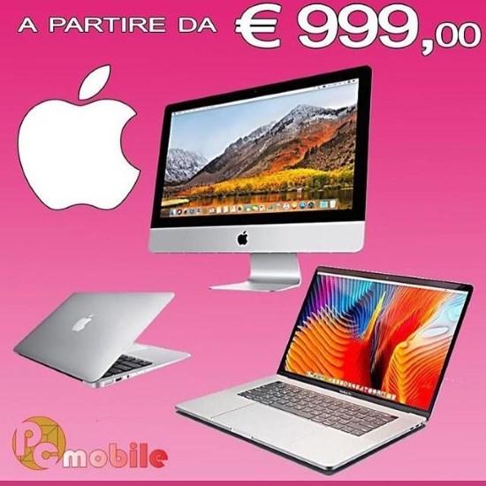 Mac a partire da 999 euro